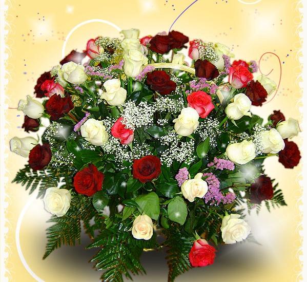 Поздравление с днем рождения женщине красивые тёте