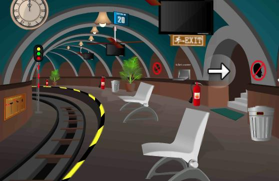 Railway station games play online