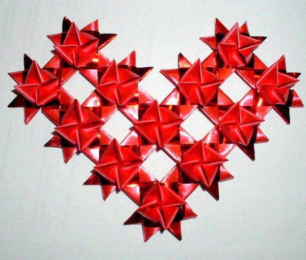 Вот такое замечательное рукодельное сердце хочется мне подарить всем.  Поделка, изделие Бисероплетение: Сердечко...