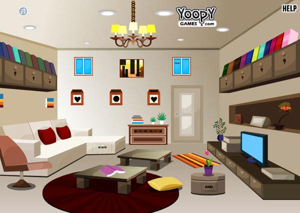 Игры модная комната