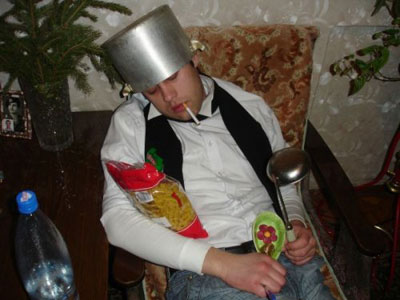 Напилася я пьяна..